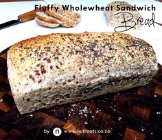 Healthy Low Calorie Whole Wheat Sandwich Bread | Nutreats