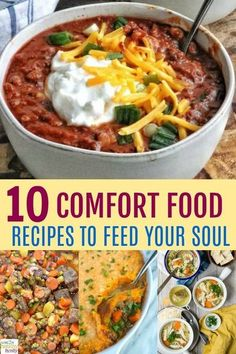 Comfort food recipes bring back memories and feelings like nothing else on this planet. It's the kind of food that makes you feel warm and cozy from the inside out. Give some of these recipes a try, and feed your soul with comforting favorites. #comfortfo Easy Cooking, Cooking Recipes, Healthy Recipes, Healthy Kids, Delicious Recipes, Healthy Meals, Keto Recipes, Healthy Food, Healthy Living