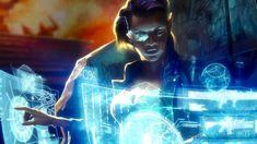 Shadowrun Chronicles Hacker artwork, by ???