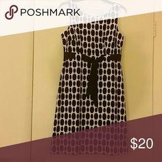 Polka dot Dress Black and White Polka Dot Dress, Never worn. Dress Barn Dresses