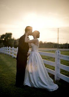 Sweet sunset kiss at #FearringtonVillage #KrystalKastPhotography