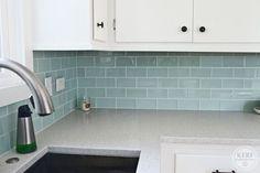 Sea Glass Tile Backsplash Fancy Home Decor