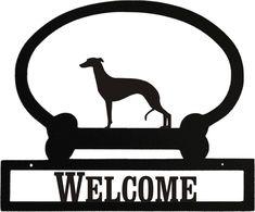 Sweeney Ridge Italian Greyhound Custom Message Sign