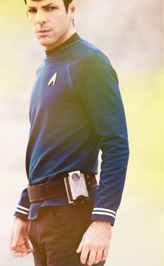 I love this guy. Spock, Spock, Spock