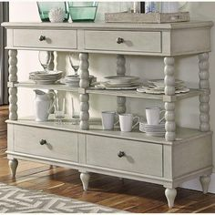 You can always use extra storage space in your dining room with a quaint buffet.