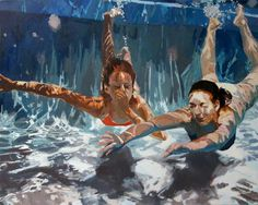 Refresh: Archival Print from Samantha French (via Etsy) Illustration Arte, Underwater Painting, Water Art, Inspiration Art, Oeuvre D'art, Fine Art Paper, Etsy, Painting & Drawing, Oil On Canvas