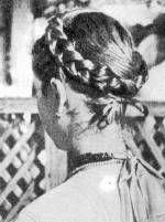 Koszorúba tűzött haj (Désháza v. Szilágy m.)