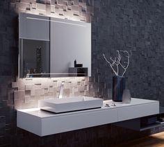 Luxury Zuerst hat Zierath den Spiegel geformt Dann hat Zierath das Licht in den Spiegel gebracht