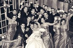 Photos of your bridal party should reflect the unique bond that you share with your closest friends.