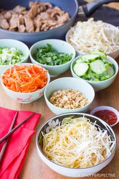Make Vietnamese Bun Cha Gio Recipe   ASpicyPerspective.com
