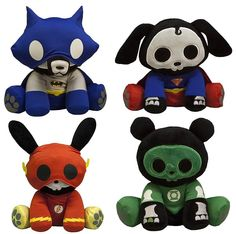 The Blot Says...: DC Heroes Skelanimals Plush Figures