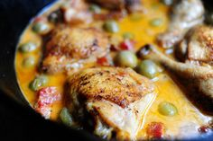 Chicken With Olives- The Pioneer Woman