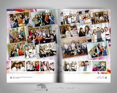 Выпускные альбомы для школьников и школьные фотоальбомы - купить, создание, изготовление, оформление