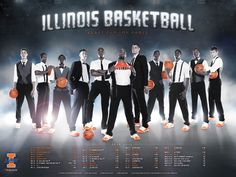illini basketball. i love this poster.