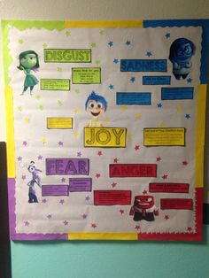 Inside Out College 101 Bulletin Board :)