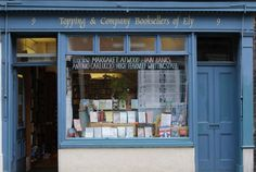 Topping & Co. bookshop in Cambridge, UK (could almost have sprung forth from a  Harry Potter book)