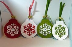 Cards-by-the-Sea: Snowflake--Card and Tags