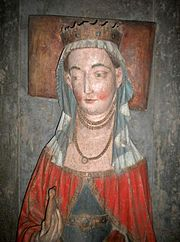 Richardis of Schwerin (1347 – April 23 or July 11, 1377) was Queen consort of Sweden as the wife of King Albert. Richardis was the child of Otto I, Count of Schwerin and Matilda of Mecklenburg-Werle.