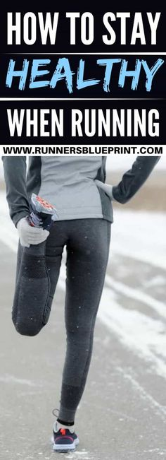 Running is one of the most convenient of all sports.  All you need is a pair of decent shoes, and there you go.  That said, the sport is also high impact. In fact, staying healthy while running— avoiding discomfort, pain, and injury —is no easy feat.http://www.runnersblueprint.com/staying-healthy-when-running/ #Runners #Health #Injuries