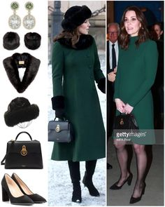 "2,416 Likes, 21 Comments - Catherine Duchess Of Cambridge (@katemidleton) on Instagram: ""For her second outfit of the day, The Duchess changed into a matching dress and coat by one of her…"""