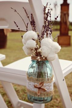 Mason Jar Wedding Decorations Hanging Mason by DownInTheBoondocks1637 cardinal Dr bethlehem 18015.. Thanks fawn- For more great inspiration visit us at Bride's Book home of the VIB Bridal Club