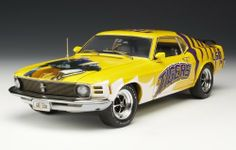 Highway 61 / DCP LSU Tigers Football 1970 Ford Mustang $44.95