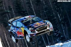 Jari-Matti Latvala inherits the lead after Hyundai's Thierry Neuville loses a wheel on a dramatic day 2 Rallye Wrc, Rally Car, Wrx, Ford Focus, Motogp, Art Cars, Vehicles, Sports, Sweden