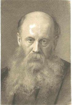 Portrait of a man with beard, 1879 - Gustav Klimt