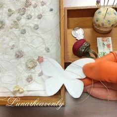 ► Brooch in butterfly shape - LunarHeavenly (Crochet Pattern Free) | ✁ CK Crafts
