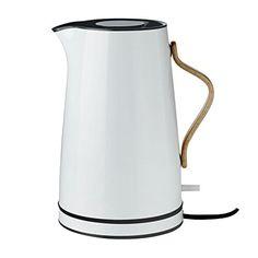 """Aufsehenerregender Wasserkocher """"Emma"""" von Stelton, für 149 Euro bei Amazon (siehe Link)."""