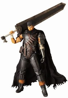 もふもふ mofumofu: Real Action Heroes Berserk Guts Black Swordsman Ver.