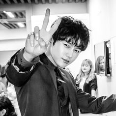 all for myungsoo L for presscon of Master: Ruler of the Mask