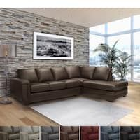 Shop for Furniture of America Faux Leather Reclining Sectional with Chaise. Get free delivery On EVERYTHING* Overstock - Your Online Furniture Shop! Reclining Sectional With Chaise, Tufted Sectional Sofa, Couches, Large Furniture, Furniture Deals, Den Furniture, Sofa Price, Sofa Sale, Home Furnishings