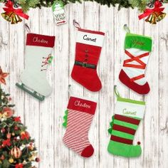 Personalized Christmas Shoes Stocking