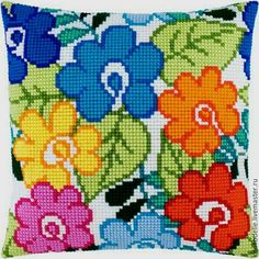 This Pin was discovered by Han Cross Stitch Cushion, Cross Stitch Tree, Cross Stitch Flowers, Cross Stitching, Cross Stitch Embroidery, Embroidery Patterns, Hand Embroidery, Bargello Needlepoint, Needlepoint Pillows