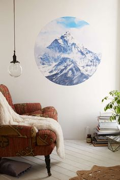 Walls Need Love Ice Capped Mountains Decal - Urban Outfitters - Every house accessory from Urban Outfitters is worth having. Want everything.