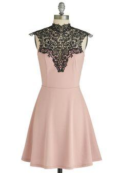 $54.99 Smart Mauve Dress, #ModCloth