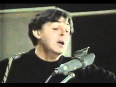 "...""For No One"", Paul McCartney, studio rehearsal performance... via YouTube"