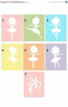 Items similar to Nursery Decor // Nursery Art // Ballerina Art Prints // Art for Girls // Decor for Girls // Ballerina Decor // Art For Kids // prints on Etsy Ballerina Kunst, Ballerina Nursery, Nursery Wall Art, Girl Nursery, Nursery Decor, Girl Decor, Baby Decor, Ballerina Silhouette, Baby Ballet