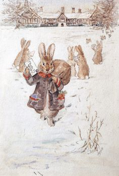 Beatrix Potter -Christmas Greetings