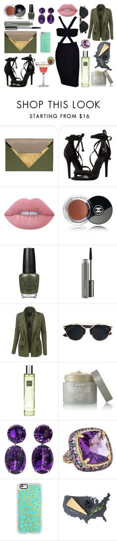"""""""* LAST FRIDAY NIGHT by bOO *"""" by boo-sandra on Polyvore featuring Dareen Hakim, Schutz, Lime Crime, Chanel, OPI, MAC Cosmetics, LE3NO, Christian Dior, Rituals and Fresh"""
