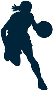 39 new ideas basket ball girls silhouette Basketball Art, Basketball Pictures, Basketball Players, Basketball Drawings, Street Basketball, Basketball Videos, Basketball Floor, Basketball Legends, Basketball Jersey
