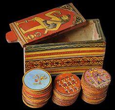 Ganjpa / Ganjifa Playing Cards Bararangi Ganjpa http://www.amazon.in/dp/B01MS4ZL3V/ref=cm_sw_r_pi_dp_x_BV6Cyb1XQ6ZF1