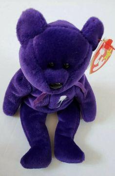 5e3898e37f6 Ty Beanie Baby PRINCESS the (Diana) Bear 1997 Rare and Retired  Ty Ty