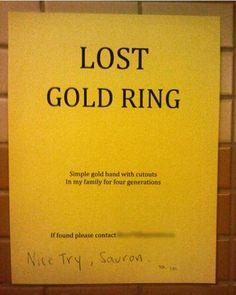 Nice try, Sauron. | Stuff Christians Like – Jon Acuff