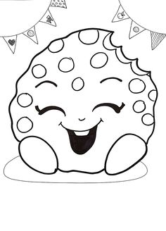 Free Shopkins Coloring Page Picture
