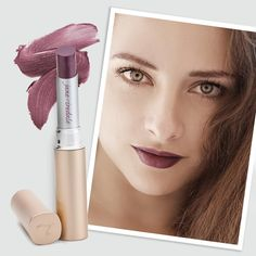 Amp up your beauty look by rocking a dark colored lipstick this fall. To get this look, try PureMoist Lipstick in Annette.