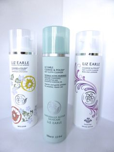 The iconic Liz Earle Cleanse and Polish hot cloth cleanser
