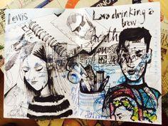 andrea joseph's sketchblog: confessions of an obsessive sketchbooker