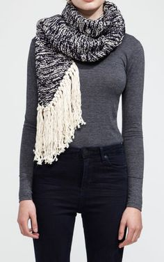 Touch Down Scarf | Knit your own or made by the gang